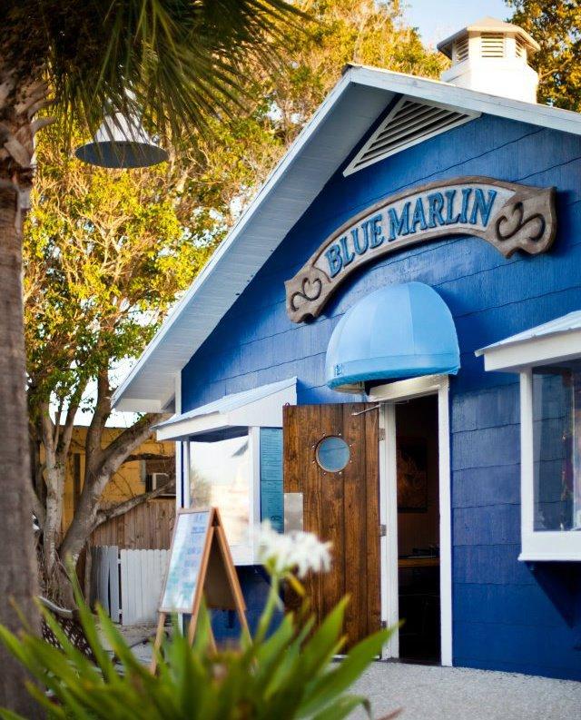 Blue Marlin Restaurant On Historic Bridge Street