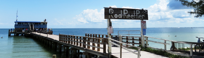 Rod and Reel Pier in Anna Maria City Is Good Eat's