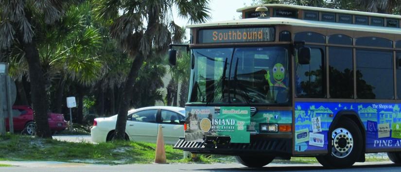 Anna Maria Island trolley